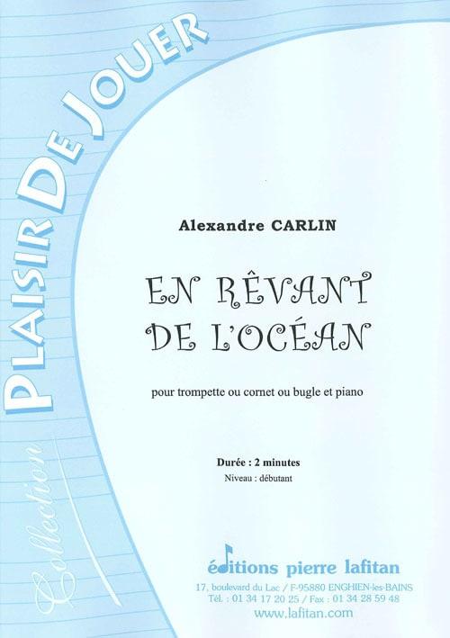 En rêvant de l'ocean - Alexandre Carlin - Partition - laflutedepan.com