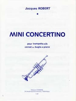 Mini Concertino Jacques Robert Partition Trompette - laflutedepan