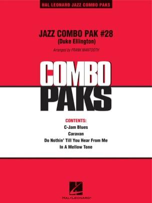 Jazz Combo Pak # 28 Duke Ellington Partition ENSEMBLES - laflutedepan