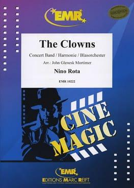The Clowns ROTA Partition ENSEMBLES - laflutedepan