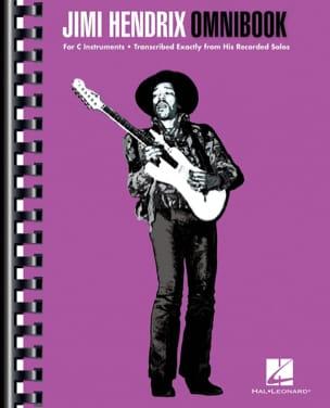 Jimi Hendrix Omnibook Jimi Hendrix Partition Pop / Rock - laflutedepan
