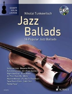 Jazz Ballads Partition Violon - laflutedepan