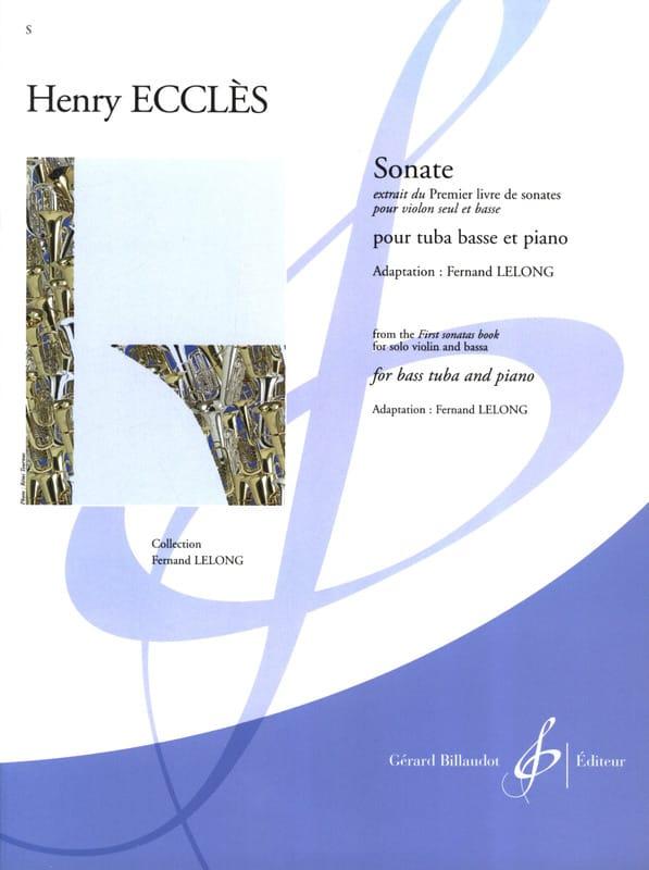 Sonate - Henry Ecclès - Partition - Tuba - laflutedepan.com