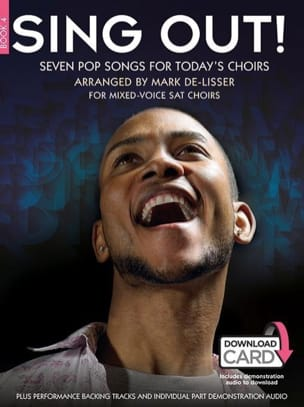 Sing Out! Seven Pop Songs For Today's Choirs - Book 4 - Partition - di-arezzo.fr