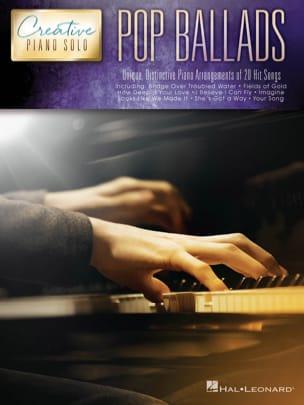 Creative Piano Solo - Pop Ballads Partition laflutedepan
