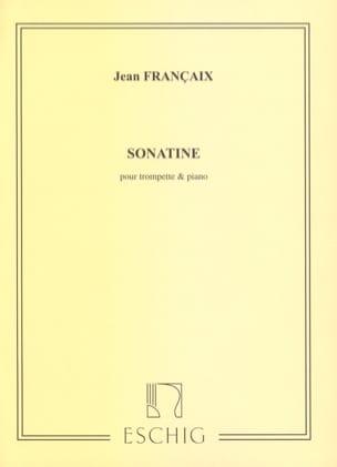 Sonatine FRANÇAIX Partition Trompette - laflutedepan