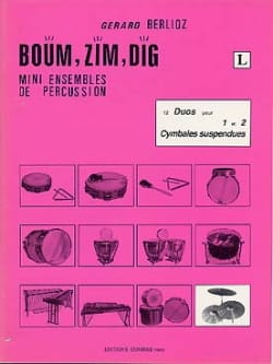 Boum, Zim, Dig. 12 Duos Volume L - BERLIOZ - laflutedepan.com