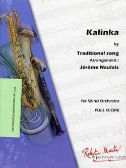 Kalinka Traditionnel Partition ENSEMBLES - laflutedepan