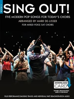 Sing Out! 5 Pop Songs For Today 's Choirs Book 3 - Partition - di-arezzo.com
