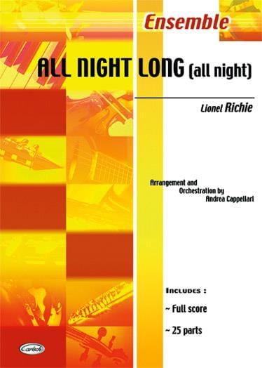 All Night Long All Night - Lionel Richie - laflutedepan.com