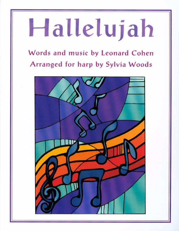 Hallelujah - Leonard Cohen - Partition - Harpe - laflutedepan.com