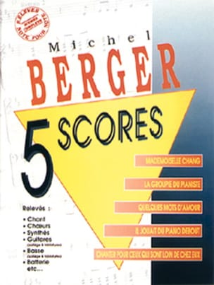 Michel Berger - 5 Punkte - Partition - di-arezzo.de