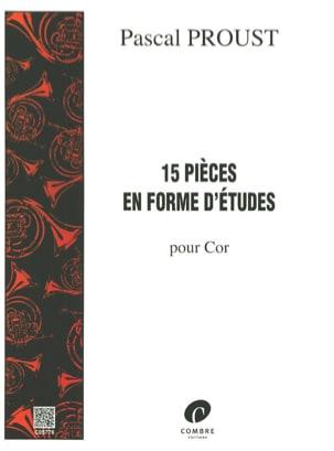 Pascal Proust - 15 piezas en forma de estudios - Partition - di-arezzo.es