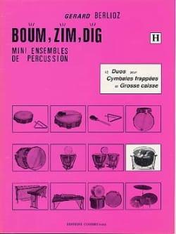 Boum, Zim, Dig. 12 Duos Volume H BERLIOZ Partition laflutedepan