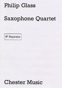 Saxophone Quartet - Parties GLASS Partition Saxophone - laflutedepan