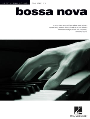 Jazz Piano Solos Volume 15 - Bossa Nova Partition laflutedepan