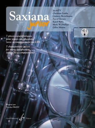 Saxiana Junior - 7 Pièces Caractéristiques pour Jeune Saxophonistes laflutedepan
