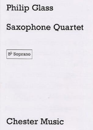 Saxophone Quartet - Parties - GLASS - Partition - laflutedepan.com