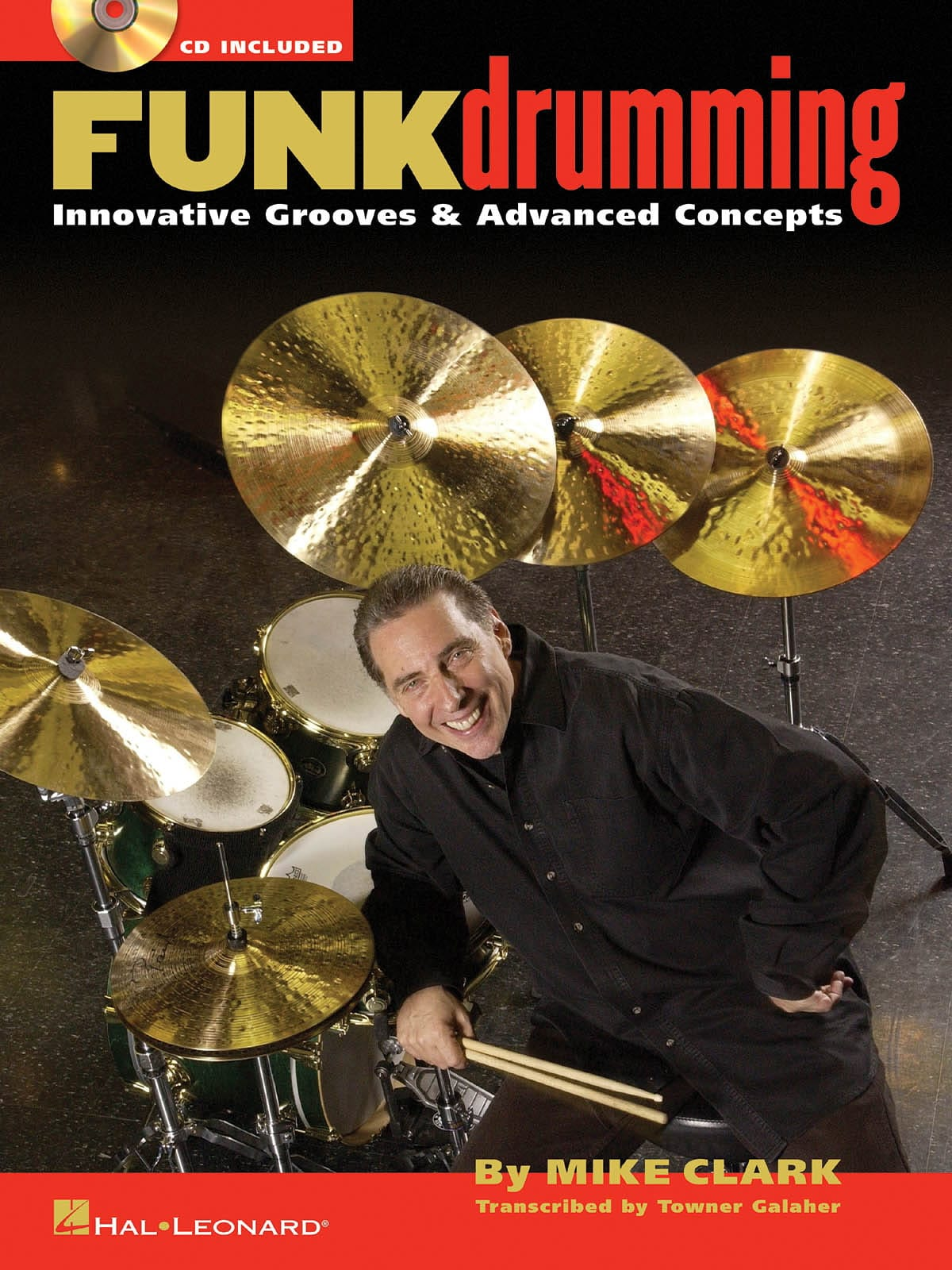 Funk Drumming - Mike Clark - Partition - Batterie - laflutedepan.com