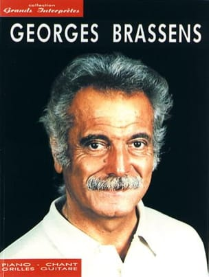 Collection Grands Interprètes Georges Brassens Partition laflutedepan