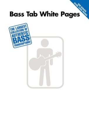 Bass Tab White Pages Partition Guitare - laflutedepan