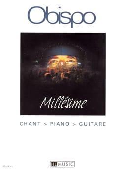 Millésime - Pascal Obispo - Partition - laflutedepan.com