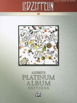 Album 3 - Platinum Guitar Led Zeppelin Partition laflutedepan