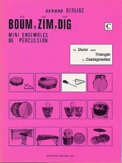 Boum, Zim, Dig. 12 Duos Volume C BERLIOZ Partition laflutedepan