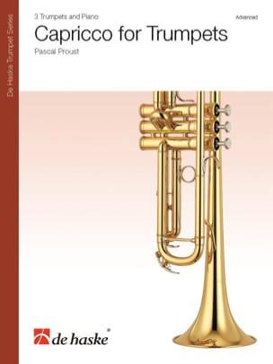 Capriccio for Trumpets Pascal Proust Partition laflutedepan