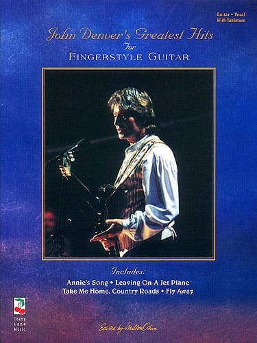 Greatest Hits For Fingerstyle Guitar - John Denver - laflutedepan.com