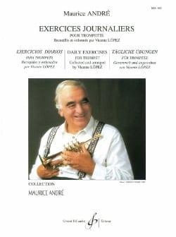Exercices journaliers Maurice André Partition Trompette - laflutedepan