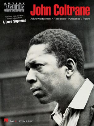 A Love Supreme John Coltrane Partition Saxophone - laflutedepan