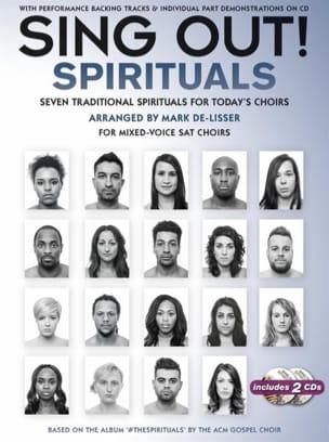 Sing Out! The Spirituals - Partition - di-arezzo.com