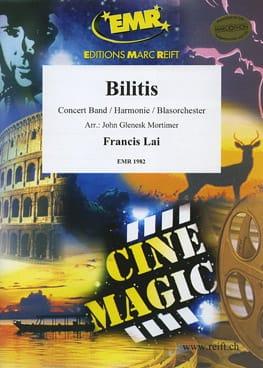 Bilitis - Musique du Film Francis Lai Partition laflutedepan