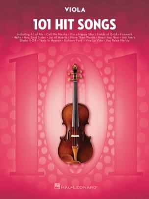 101 Hit Songs for Viola Partition Alto - laflutedepan