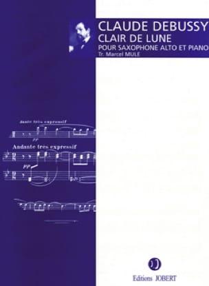 Clair de Lune - DEBUSSY - Partition - Saxophone - laflutedepan.com