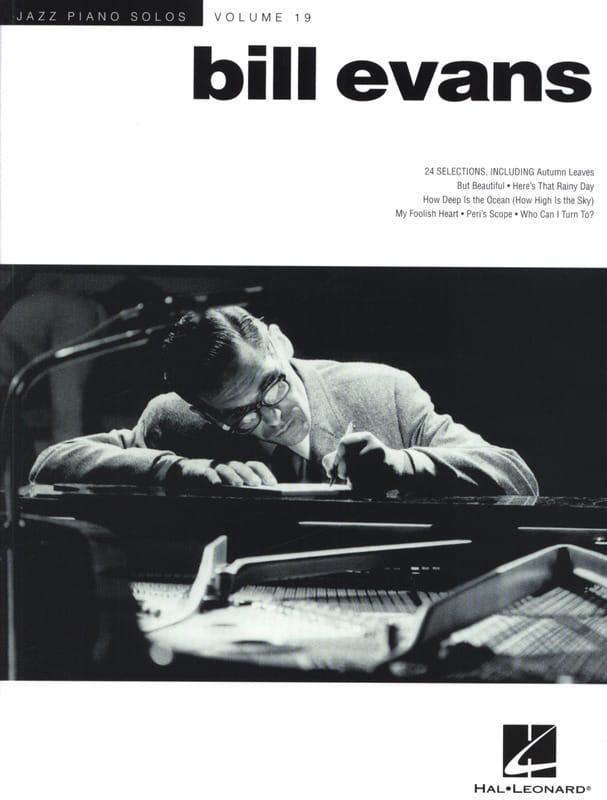 Jazz Piano Solos Series Volume 19 - Bill Evans - laflutedepan.com