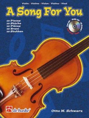 A Song For You Otto M. Schwarz Partition Violon - laflutedepan