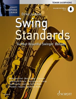 Swing Standards Partition Saxophone - laflutedepan