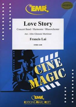 Love Story Francis Lai Partition ENSEMBLES - laflutedepan