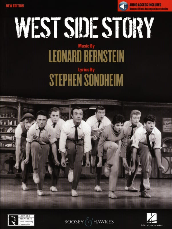 West Side Story - New Edition - BERNSTEIN - laflutedepan.com