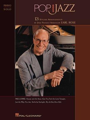 Pop Goes Jazz. Piano Solo - Rose Earl - Partition - laflutedepan.com