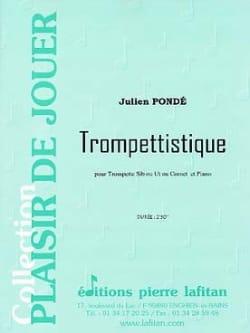 Trompettistique Julien Pondé Partition Trompette - laflutedepan