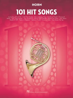 101 Hit Songs for Horn Partition Cor - laflutedepan