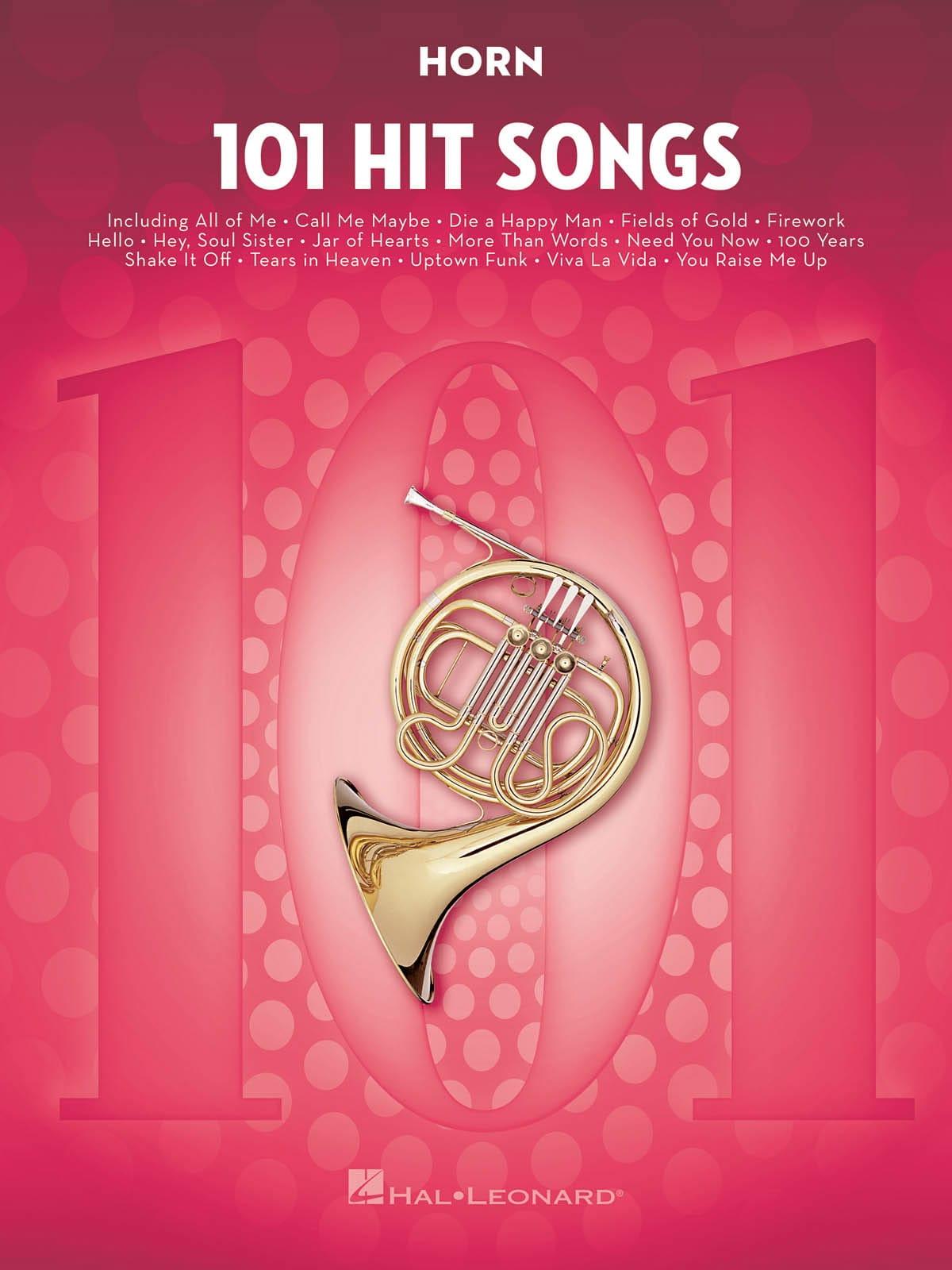 101 Hit Songs for Horn - Partition - Cor - laflutedepan.com