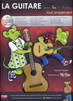 La Guitare pour les 6 / 9 ans tout simplement Partition laflutedepan