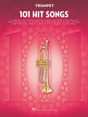 101 Hit Songs for Trumpet Partition Trompette - laflutedepan
