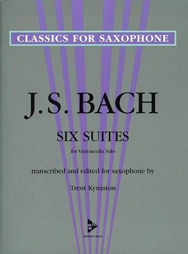 6 Suites for Violoncello Solo - BACH - Partition - laflutedepan.com