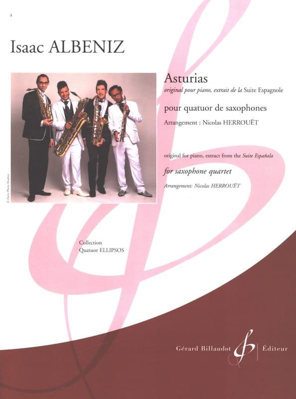 Asturias - ALBENIZ - Partition - Saxophone - laflutedepan.com