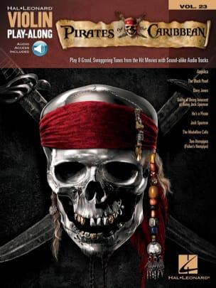 Violin play-along volume 23 - Pirates des Caraïbes laflutedepan